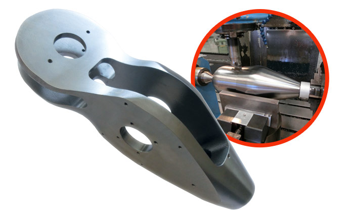 Specific part for the control system of foils - Guelt Nautic