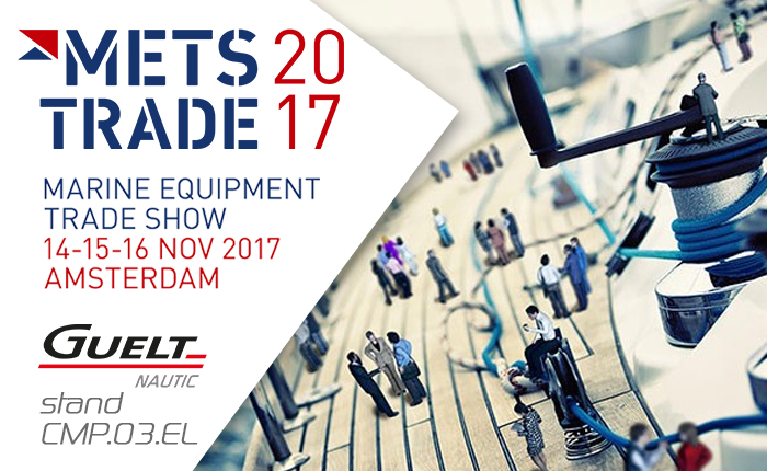 Let's meet Guelt Nautic at METS 2017 - Booth CMP.03.EL