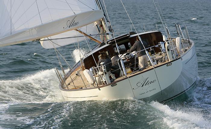 Réalisation par Guelt Nautic de pièces pour le voilier d'exception Atao de JFA Yachts