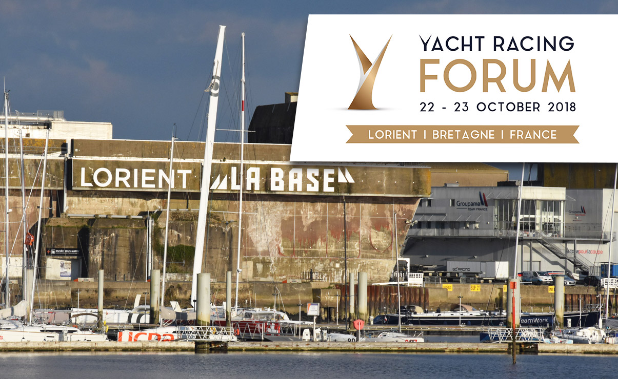 Yacht Racing Forum - 22 - 24 octobre 2018 - Lorient