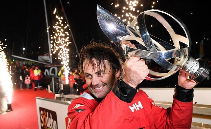 Yannick Bestaven, vainqueur du 9ème Vendée Globe